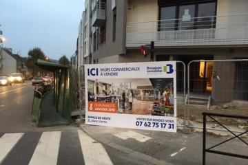 panneau 3x2m Bouygues immo Nantes