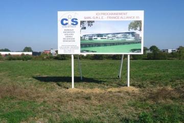 panneau-de-commercialisation-en-scellement-avec-ossature-bois-CIS-Coueron