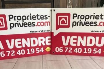 panneau immobilier PP.COM