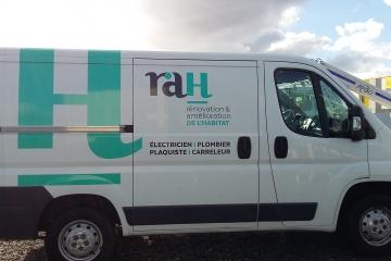 Habillage côté véhicule RAH