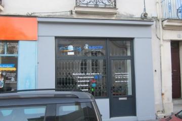 Vitrophanie Agence de Voyages Nantes