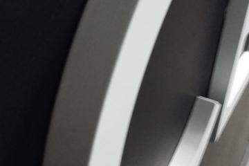 lettre PVC 19mm laquée découpée à la forme