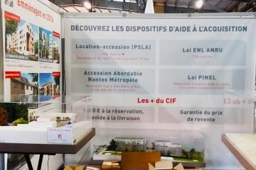 Toile imprimée M1 Nantes